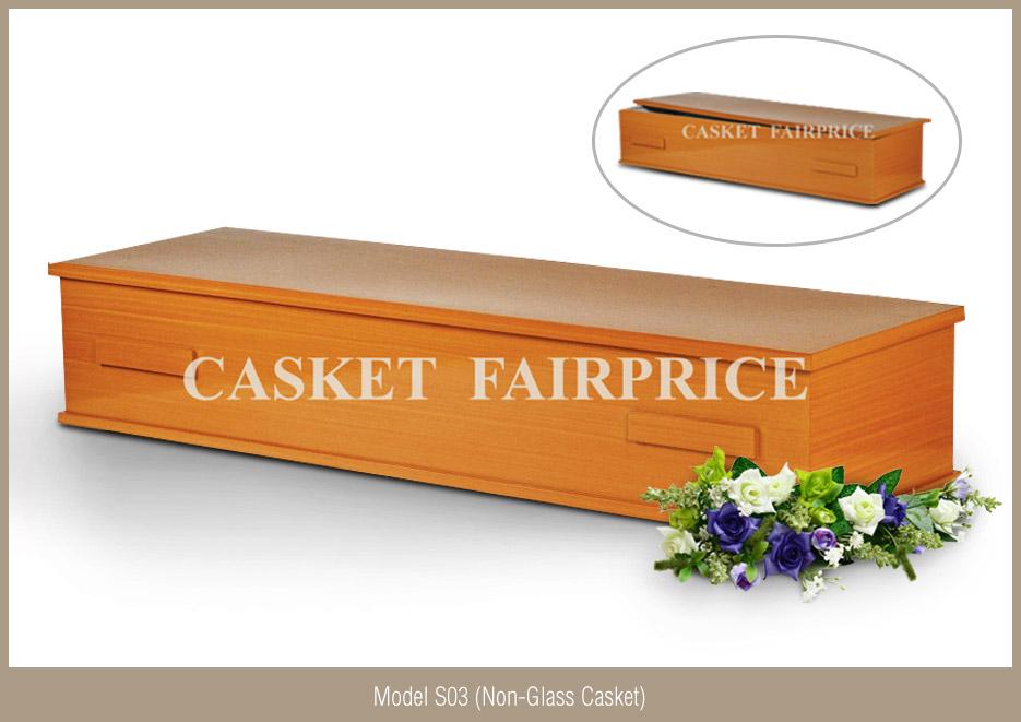Casket Services - Casket Model S03 (Non-Glass)