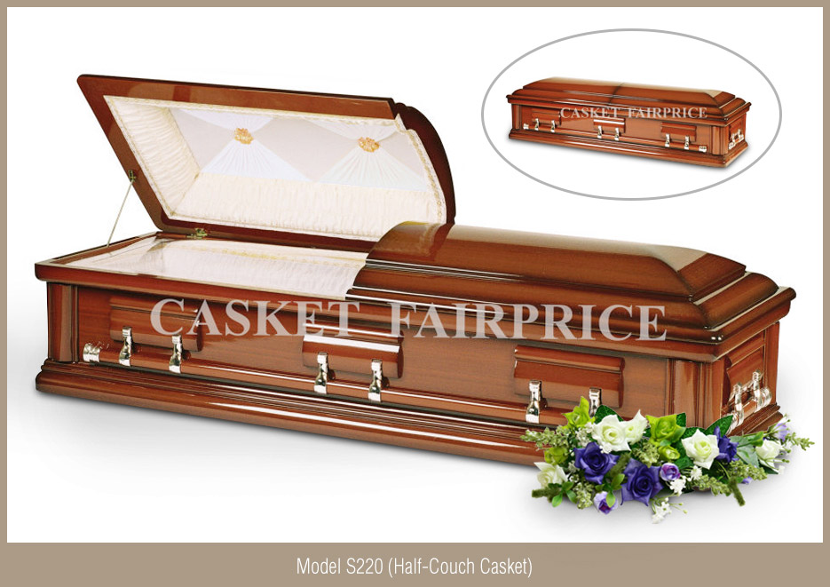 Casket Services - Casket Model S220 (Half-Couch)