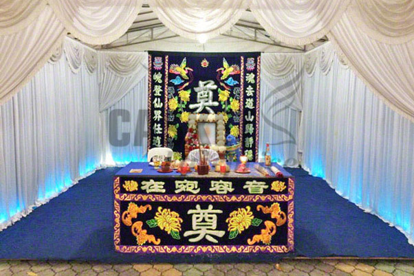 Taoist Funeral Package at Void Deck