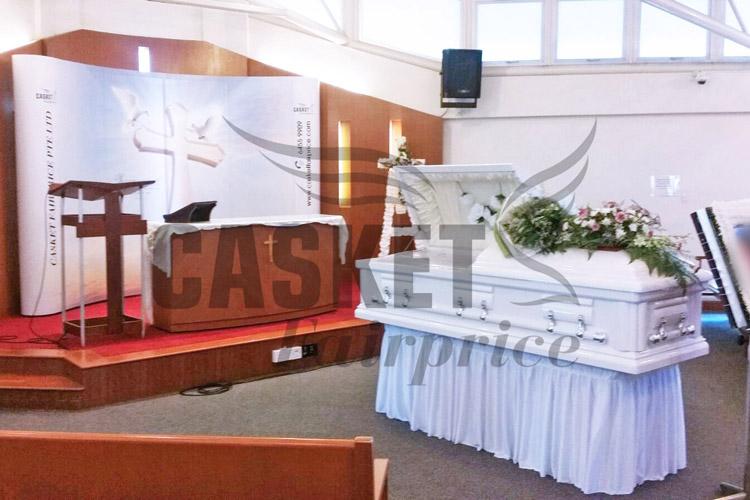 Funeral held at St John St Margaret Chapel
