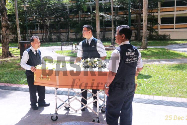 Soka funeral service