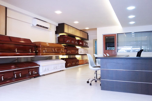 Funeral Service Singapore - Casket Fairprice Office and Showroom