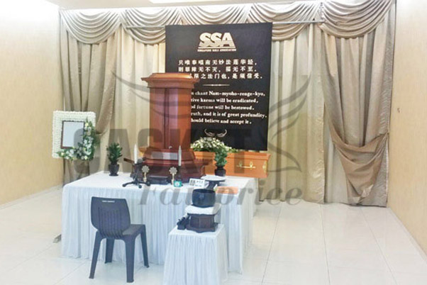 Funeral Services Singapore - Soka Funeral Service - Soka Funeral Package - Parlour