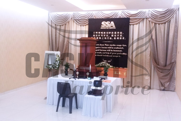 Soka funeral services at parlour