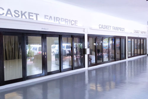 Casket Fairprice Storefront. Contact Casket Fairprice 64559909.